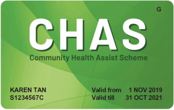 CHAS card - Green